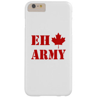Ejército de Canadá Eh Funda Barely There iPhone 6 Plus