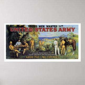 Ejército de Estados Unidos Posters