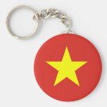 Ejército de gente de Vietnam, bandera de Vietnam Llaveros Personalizados