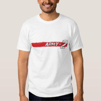 Ejército de la camiseta 2 playera