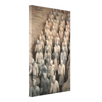 Ejército de la terracota China Lona Estirada Galerías