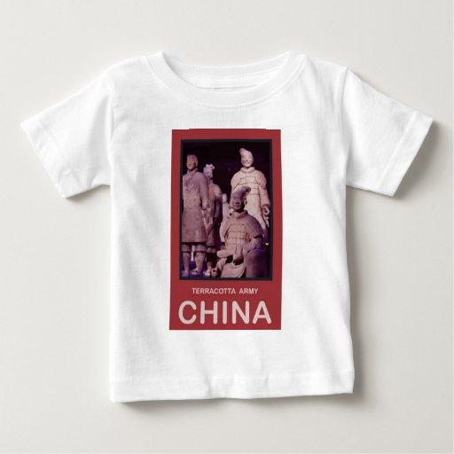 Ejército de la terracota de China Remera