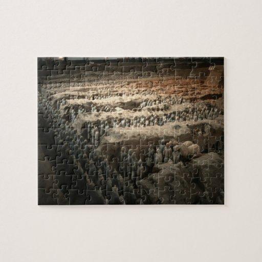 Ejército de la terracota difícil puzzles