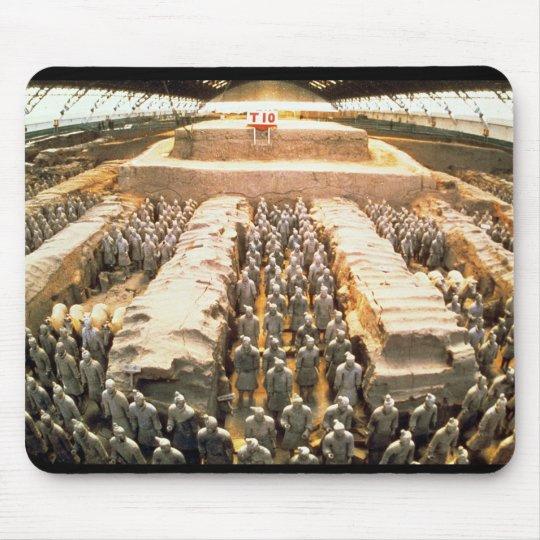 Ejército de la terracota, dinastía de Qin, 210 A.C Alfombrillas De Ratón