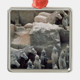 Ejército de la terracota, dinastía de Qin, 210 A.C Adorno De Navidad