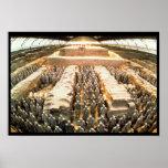 Ejército de la terracota, dinastía de Qin, 210 A.C Póster