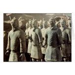 Ejército de la terracota, dinastía de Qin, 210 A.C Felicitación