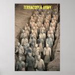 Ejército de la terracota posters