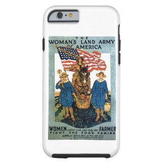 Ejército de la tierra de las mujeres funda para iPhone 6 tough