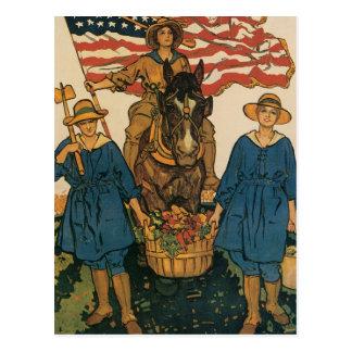 Ejército de la tierra de las mujeres postales