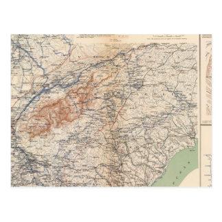 Ejército de las campañas del Cumberland Postales