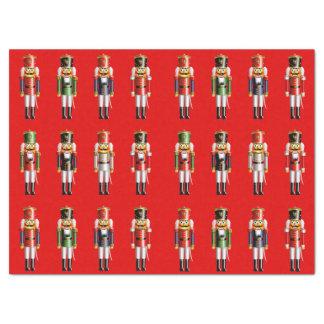 Ejército de nuez de los cascanueces papel de seda grande