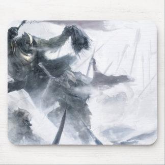Ejército de Orc de la nieve Mouse Pad