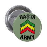 Ejército de Rasta Pin Redondo 5 Cm