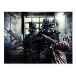 Ejército del acero tarjeta postal