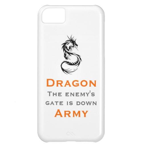 Ejército del dragón/el mantra de Ender Funda Para iPhone 5C