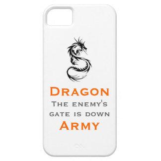 Ejército del dragón/el mantra de Ender iPhone 5 Case-Mate Carcasa