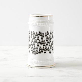 Ejército del oso jarra de cerveza