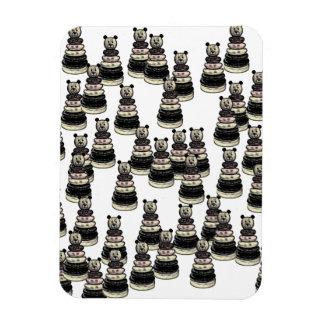 Ejército del oso rectangle magnet