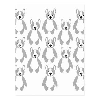 Ejército del perro de perrito de Terrier Postal