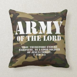 Ejército del señor almohadas