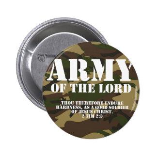 Ejército del señor pin redondo de 2 pulgadas