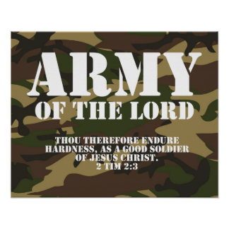 Ejército del señor póster