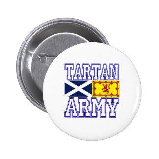 Ejército del tartán pins