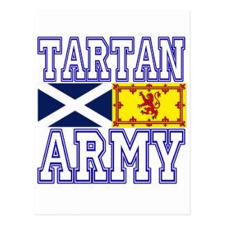 Ejército del tartán tarjetas postales