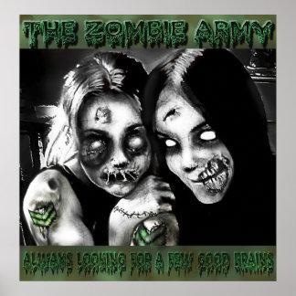 Ejército del zombi poster