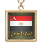 Ejército egipcio (árabe) colgantes personalizados