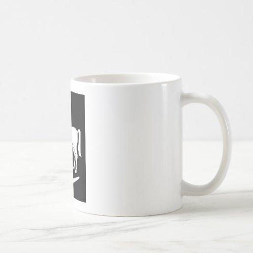 Ejército en segundo lugar australiano taza de café