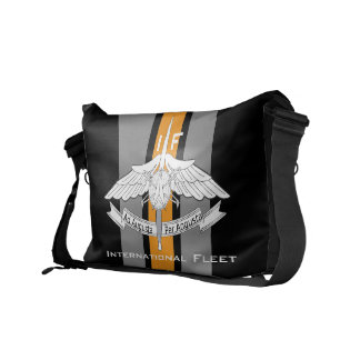 Ejército internacional de la flota dragón bolsa messenger