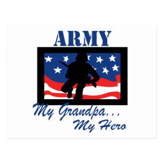 Ejército mi abuelo mi héroe postal