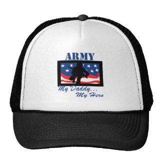 Ejército mi papá mi héroe gorras