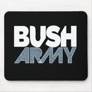 Ejército Mousepad de Bush Tapete De Raton