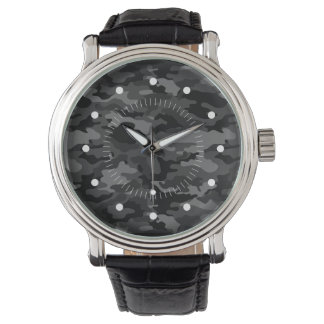 Ejército negro impresionante No4 Relojes De Pulsera