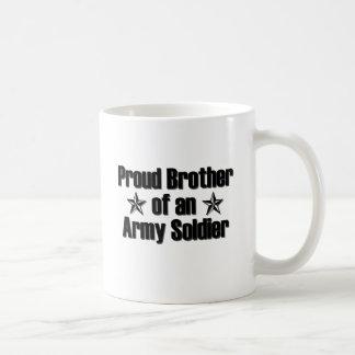 Ejército orgulloso Brother Taza