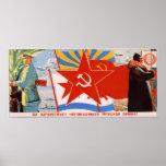 Ejército rojo 1937 de URSS Unión Soviética Impresiones