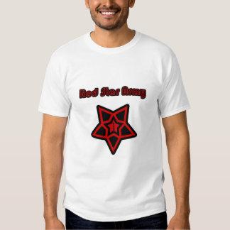 Ejército rojo de la estrella - 1 Sr. Red Playeras