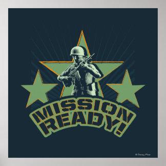 Ejército Sarge Misión lista Poster