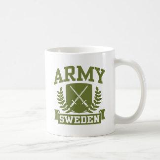 Ejército sueco tazas de café