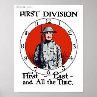 Ejército -- WWI Poster