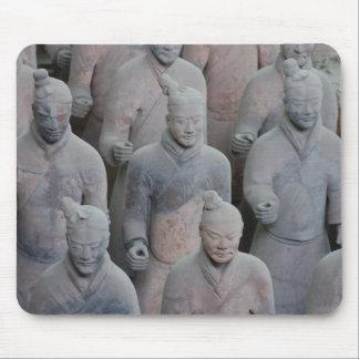 Ejército Xian China de la terracota de Qin del emp Tapete De Raton