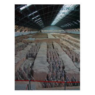 Ejército Xian China de la terracota de Qin del emp Postal