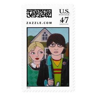 ejes de balancín americanos sello