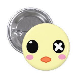 Ejiki the Chick Head Pins