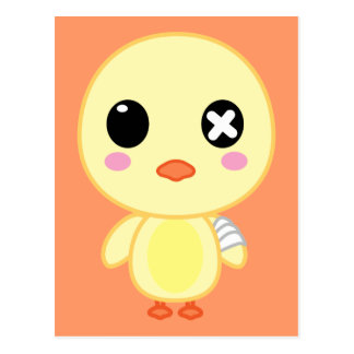 Ejiki the Chick Postcard