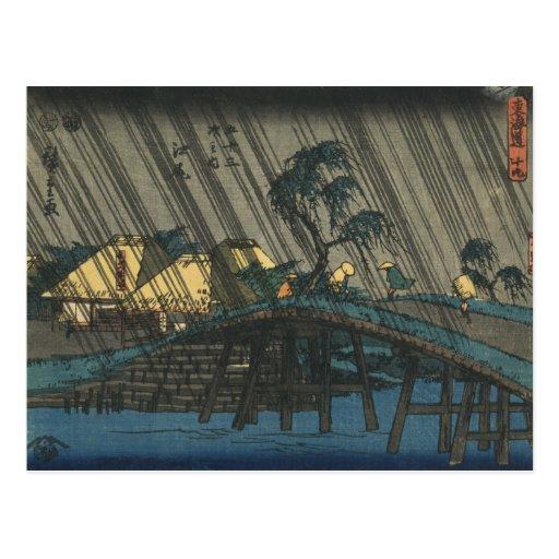 Ejiri -  Ando Hiroshige Postcard