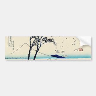 Ejiri in Suruga Province Bumper Sticker